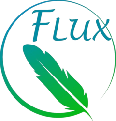 logo van FLUX