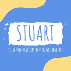 logo van Studentenraad Faculteit Letteren en Wijsbegeerte